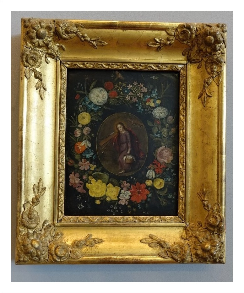 Dipinto olio su rame epoca 600   Codice: 1050040
