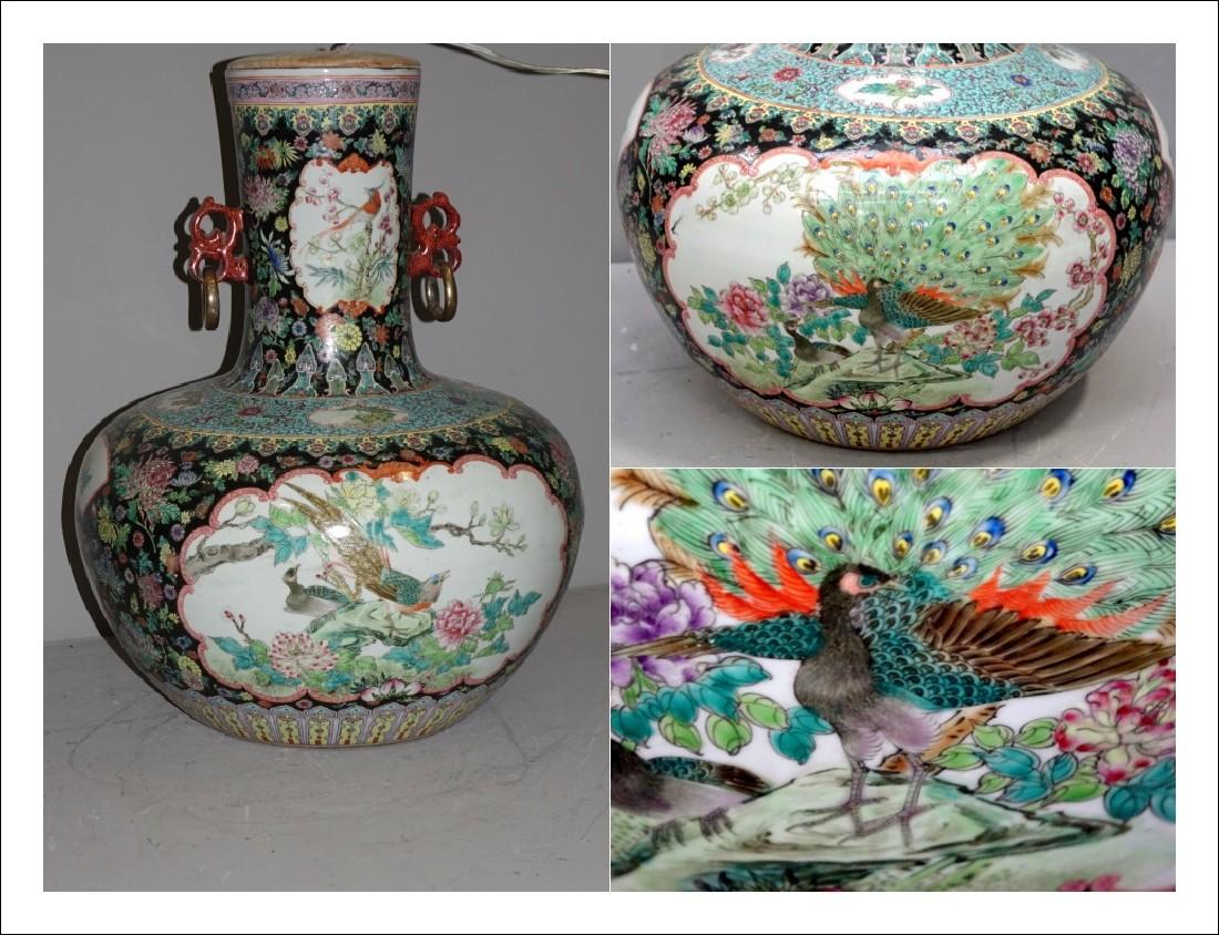 Vaso in ceramica dipinta cinese   0169074