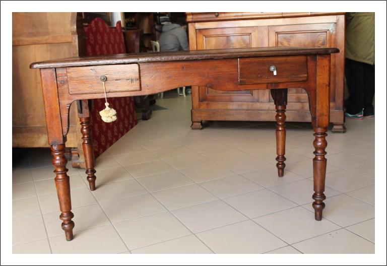 Tavolino. – scrittoio scrivania toscano fine 800 restaurato !!  Antico Antiquariato gambe tornite 2