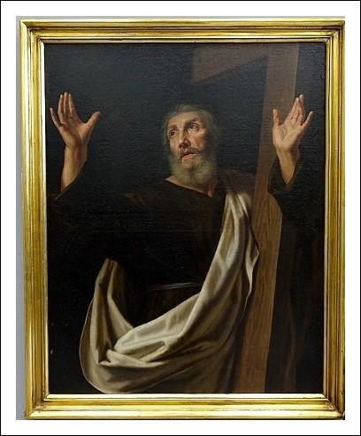 Sant' Andrea olio su tela epoca 600