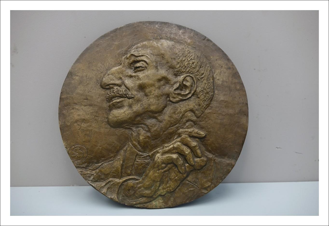 Placca in bronzo Leonardo Bistolfi  1260021