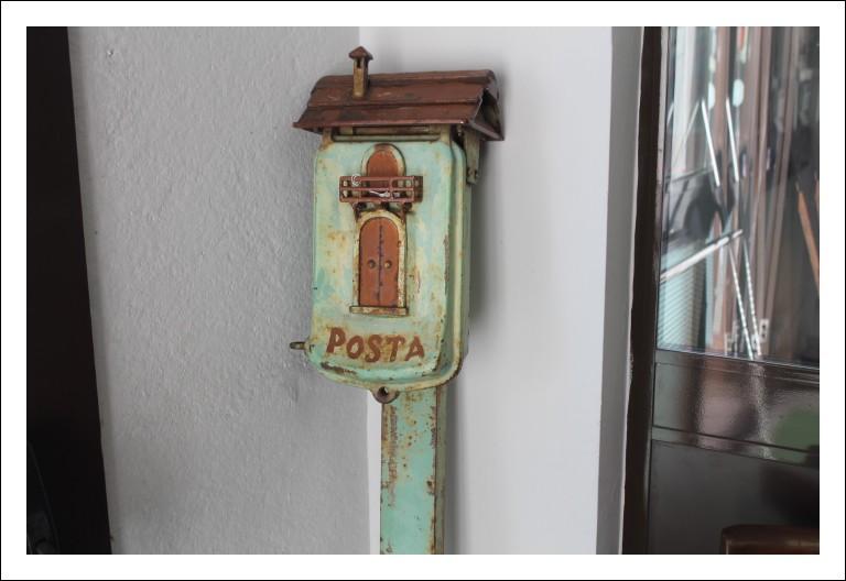 Introvabile Cassetta Postale antica primi 900 proveniente da Toscana !in ferro Originale. Da estern