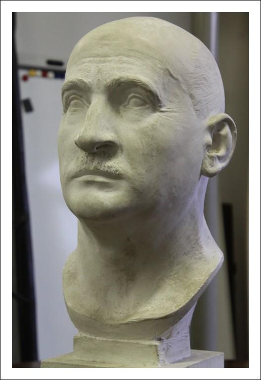 Busto di Gesso statua Scultura epoca 800 firmata Martini G. Da eredità Antica Antiquariato