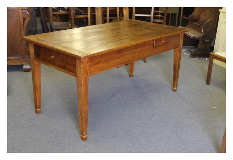 Antico tavolo Luig Xvi metà 800 in ciliegio massello restaurato Tavolino !! Antiquariato
