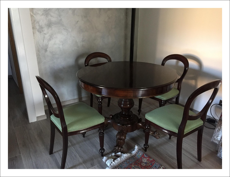 tavolo ovale fine 800