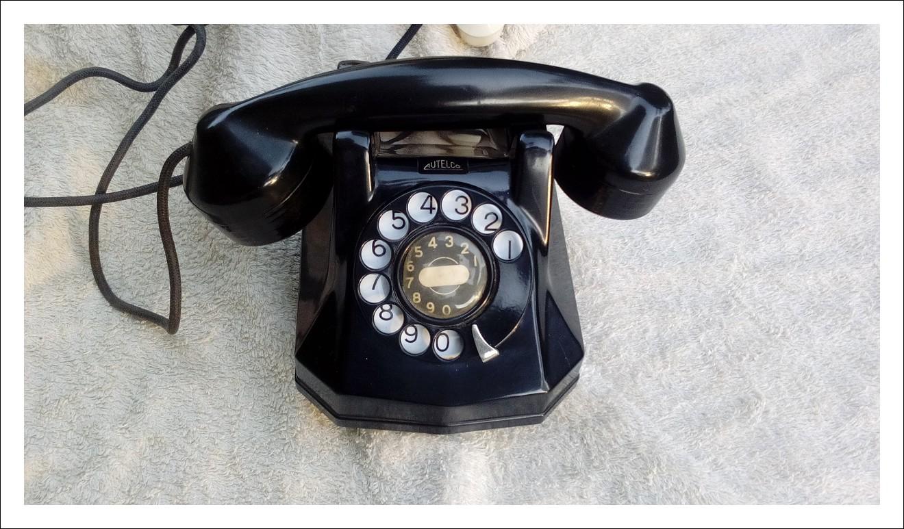 Telefono Autelco anni 40