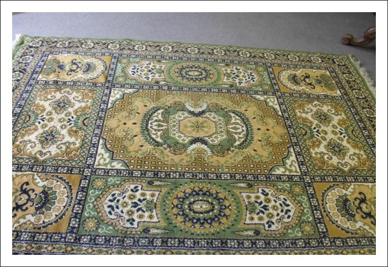 Splendido tappeto Orientale Pakistan  in pura lana vergine !Grandi dimensioni toni Verde