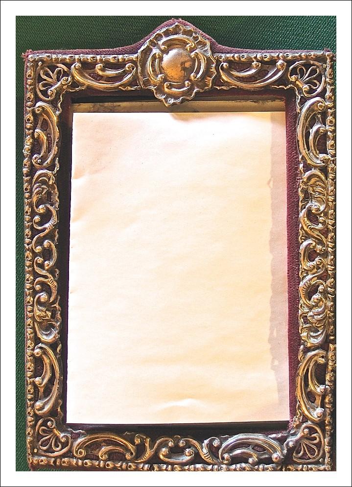 Originale cornice in argento 925. Edoardo VII