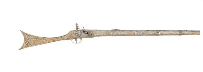 Lotto 42 A Rare Balkan 15-Bore All-Metal Flintlock Gun (Kariophili)