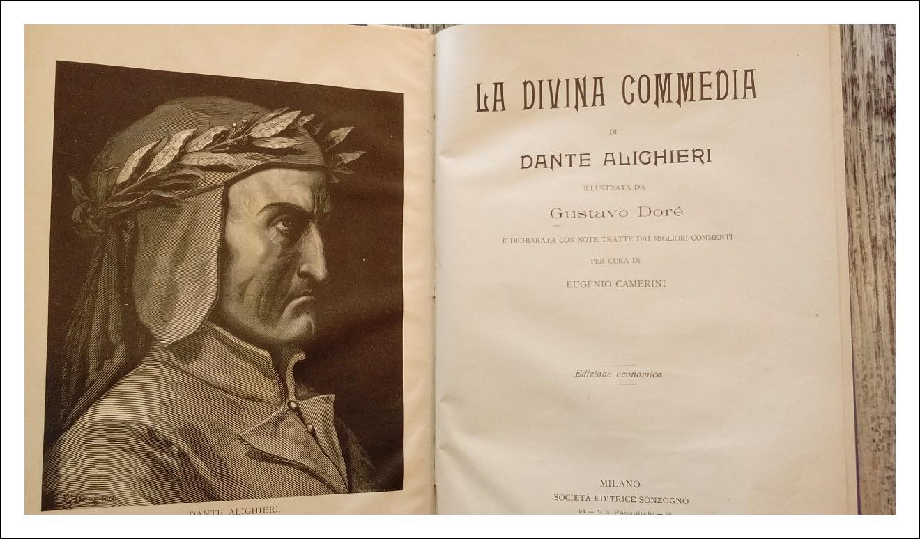 La Divina Commedia di Dante Alighieri del 1911 di Gustavo Dorè