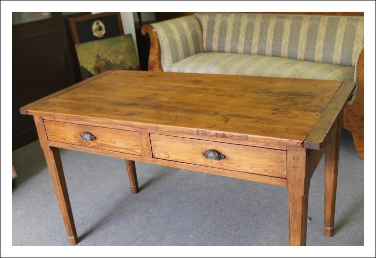 Antico tavolo da lavoro sarto restaurato ! Tavolino o scrittoio con prolunghe !  1930 ca industrial