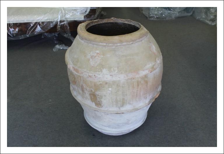 Antico Orcio Umbro Orvietano 1839 ziro per Olio . Grandi dimensioni Vaso arredo Antiquariato