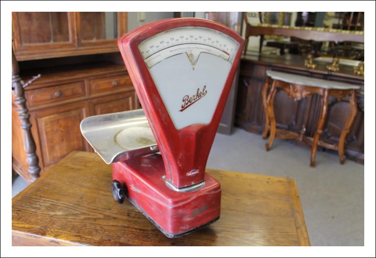 Bilancia Berkel 1950 alimentare vintage industriale. Funzionante. Ottimo stato Antica antiquariato