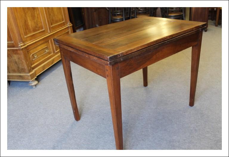 Tavolo antico Direttorio Luigi XVI FINE 700 Piemonte a libro allungabile ! Altro annuncio sue sedi