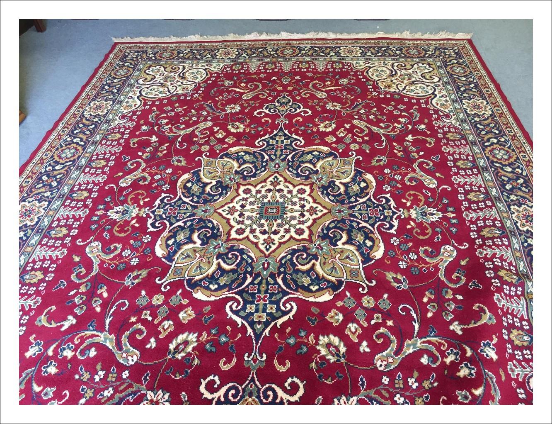 Tappeto Orientale Iraniano XX sec 345cm x 234 cm in pura lana vergine !annodato a mano .Ottimo stato