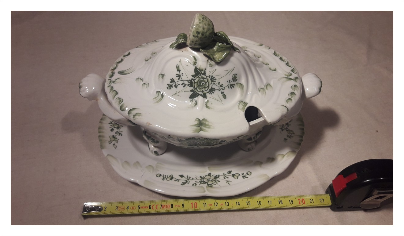 Zuppiera ceramica