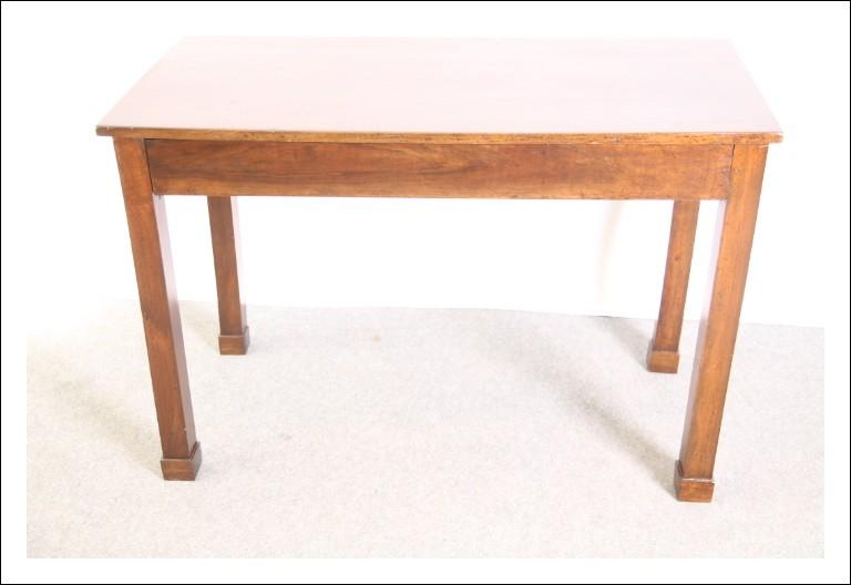 Antico Scrittoio Console Emiliana primo Impero noce 1810 , tavolinetto ,antiquariato restaurato con