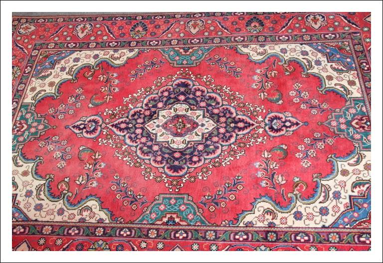 """Tappeto persiano """"Tabriz """" epoca 900 annodato a mano in lana . Cm 300 x cm 205 . Ottimo stato Eccel"""