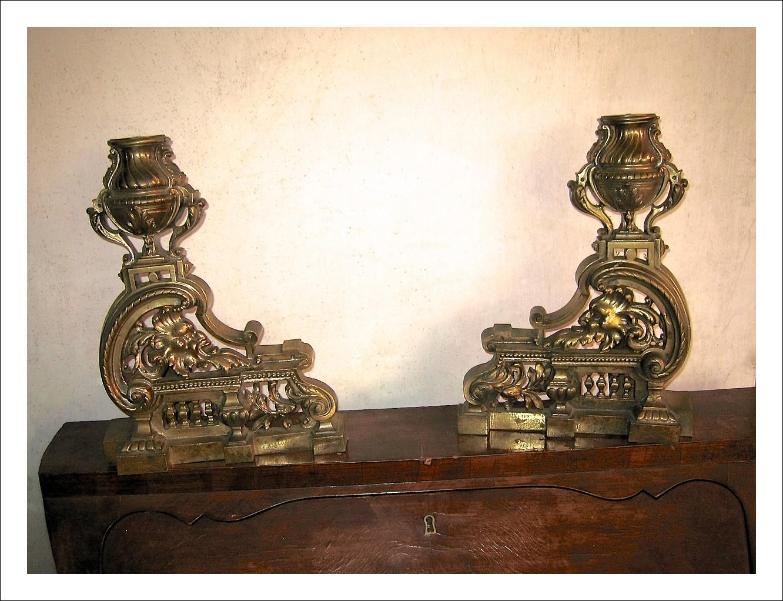 Bronzi - Coppia di basi per lampade da salotto - Napoleone III - Autentiche