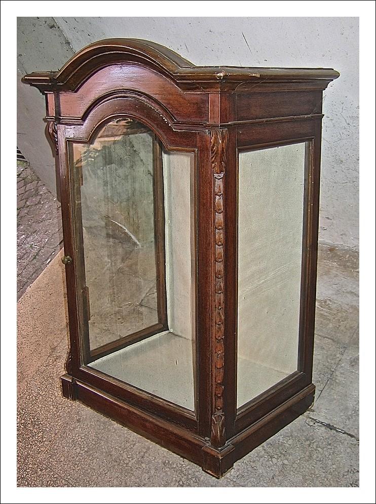 Vetrinetta dell´ 800 con vetri per esposizione